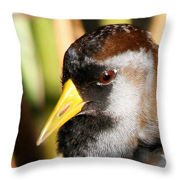 Sora Head Shot Throw Pillow