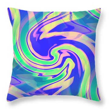 Sorbet Dreams Throw Pillow by Shana Rowe Jackson