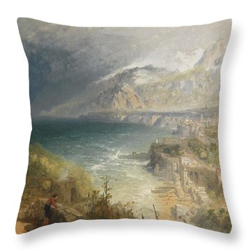 Sorrento Throw Pillow by JB Pyne