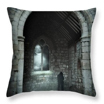 Soul Of Night Throw Pillow by Svetlana Sewell