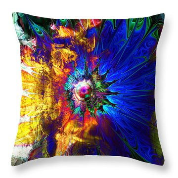 Souls United Throw Pillow