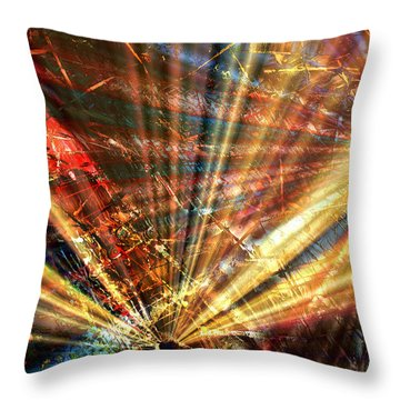 Sound Of Light Throw Pillow