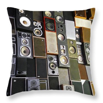 Throw Pillow featuring the photograph Sound Of Music ... by Juergen Weiss