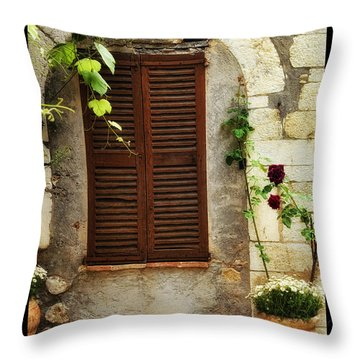 South Of France Throw Pillow by Mauro Celotti