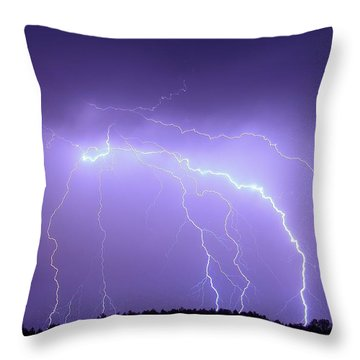 Southern Fire Throw Pillow