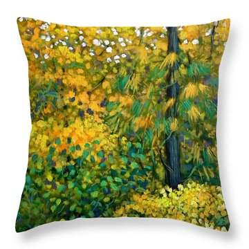 Southern Woods Throw Pillow