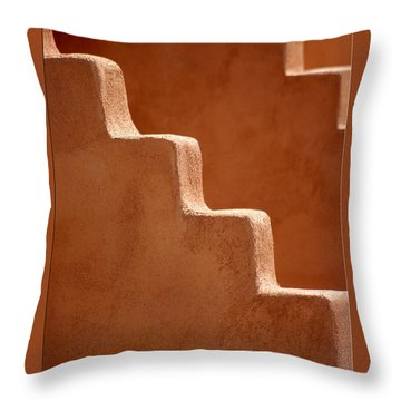 Southwest Contour Throw Pillow