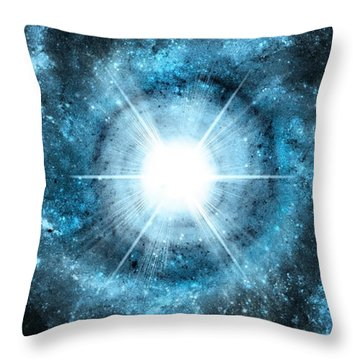 Space006 Throw Pillow by Svetlana Sewell