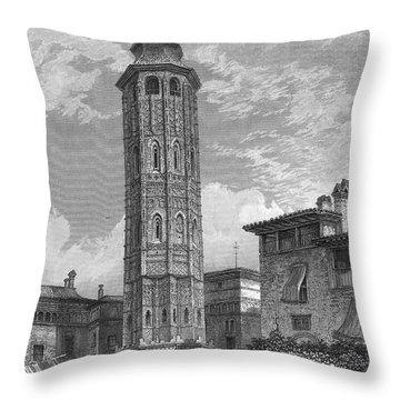 Spain: Saragossa, 1833 Throw Pillow by Granger