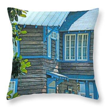 Spanish Town Blues  Throw Pillow