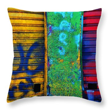 Spare A Spill Throw Pillow by Skip Hunt