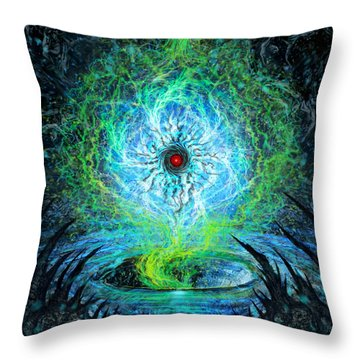 Spark Of Emotional Progress Throw Pillow
