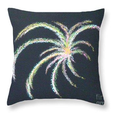 Sparkler Throw Pillow by Alys Caviness-Gober