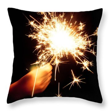 Sparklin' Throw Pillow