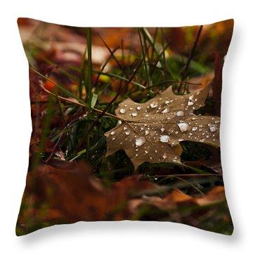 Sparkling Gems Throw Pillow