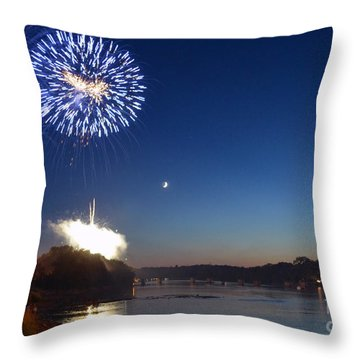 Sparkling Water  Throw Pillow by Sue Stefanowicz
