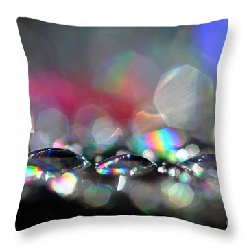 Sparks Throw Pillow by Sylvie Leandre