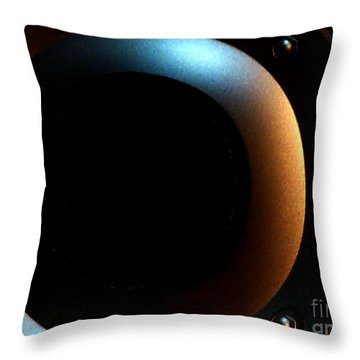 Throw Pillow featuring the photograph Sphere by Newel Hunter