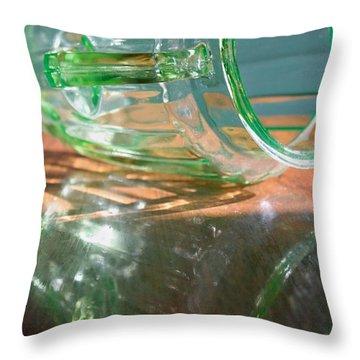 Spilled Light Throw Pillow