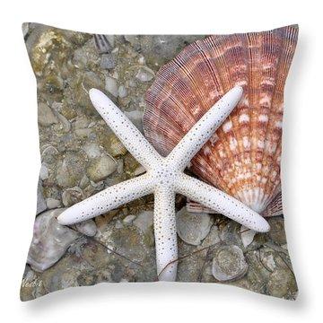 Spirit Of The Seashore  Throw Pillow