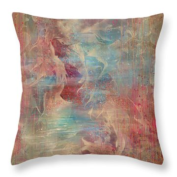 Spirit Of The Waters Throw Pillow by Rachel Christine Nowicki