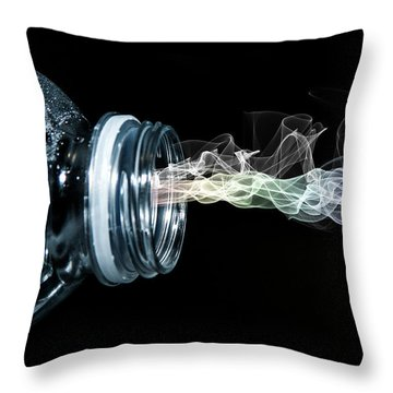 Throw Pillow featuring the photograph Spirit Of Thirst by Ester  Rogers