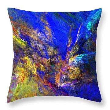 Spirits Over Bay Throw Pillow by David Lane