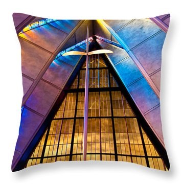 Spiritual Peace Throw Pillow