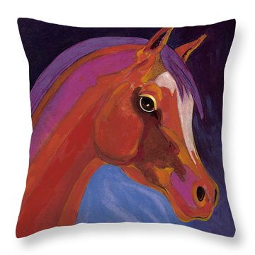 Splendor Throw Pillow by Bob Coonts