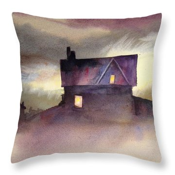 Spooktacular Throw Pillow by Mohamed Hirji