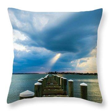 Spotlight Throw Pillow by Shannon Harrington