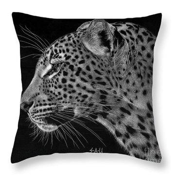 Spotted Solitude Throw Pillow