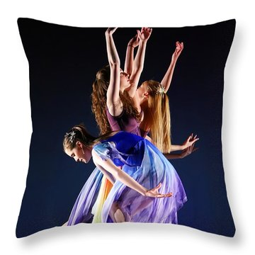 Spring Awaking Throw Pillow