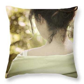 Spring Beauty Throw Pillow by Margie Hurwich