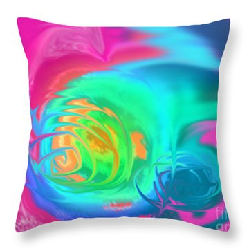 Spring Blooms 1 Throw Pillow