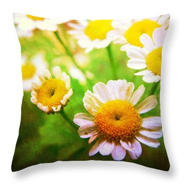 Spring Bouquets Throw Pillow