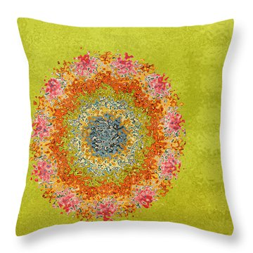 Spring Dream Throw Pillow by Bonnie Bruno