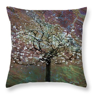 Spring Dreaming Throw Pillow by Gray  Artus