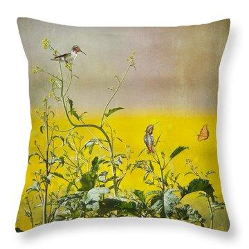 Spring Equinox Throw Pillow