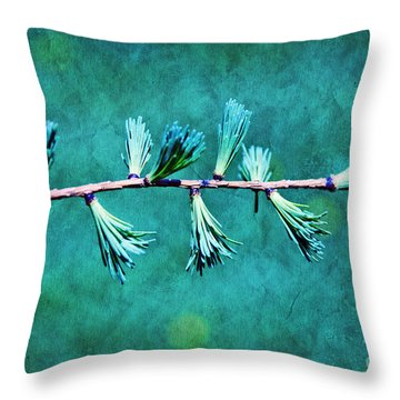 Spring Has Sprung Throw Pillow by Aimelle