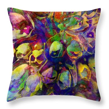 Spring In My Mind Throw Pillow