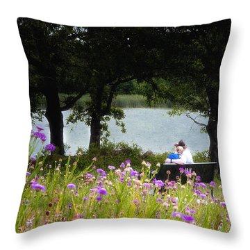 Spring Love Throw Pillow by Tamyra Ayles