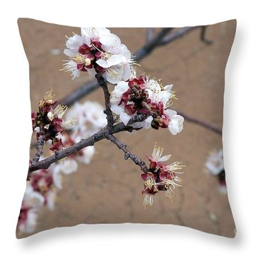 Spring Promises Throw Pillow by Dorrene BrownButterfield