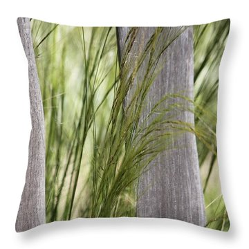 Spring Time In The Meadow Throw Pillow