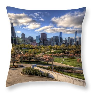 Spring Time Is Here Throw Pillow