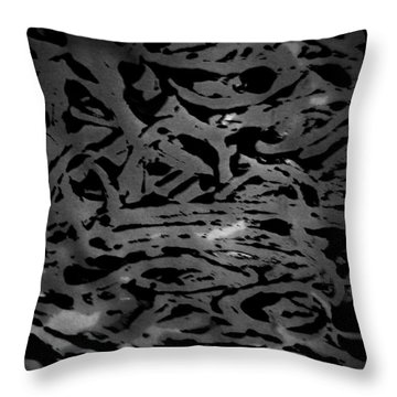 Squirm For The Norm  Throw Pillow by Jerry Cordeiro