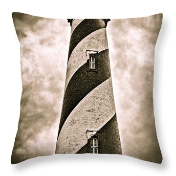 St Augustine Lighthouse Throw Pillow by Bill Howard