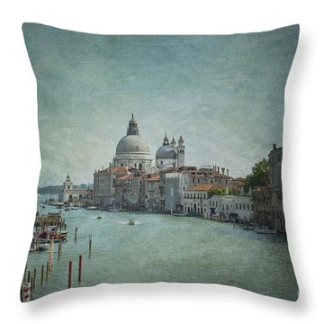 St Maria Della Salute Throw Pillow by Marion Galt