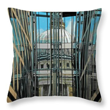 St Pauls Compressed Throw Pillow