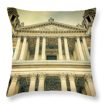 St Pauls Standing Throw Pillow